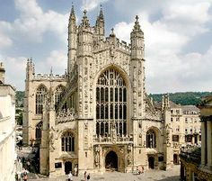 Bath Abbey, Bath, England.