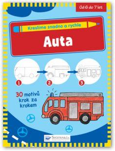 Auta (Kreslíme snadno a rychle - Sojtka & Co)