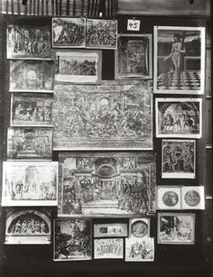 Aby M. Warburg «Mnemosyne-Atlas» | Mnemosyne-Atlas, Nr. 45