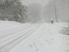 Snow. Tazewell, Virginia