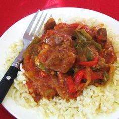 Easy and Quick Swiss Steak for Slow Cooker Slow Cooker Recipes, Crockpot Recipes, Cooking Recipes, Healthy Recipes, Cooking Tips, Kale Recipes, Cuban Recipes, Hamburger Recipes, What's Cooking