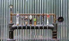 Custom Steam Punk Gadget Industrial Draft Beer Tower