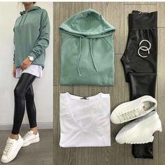 Style ideas clothes dresses new ideas – – Hijab Fashion 2020 Modern Hijab Fashion, Fashion Mode, Fashion 2020, Look Fashion, Korean Fashion, Sporty Outfits, Mode Outfits, Classy Outfits, Trendy Outfits