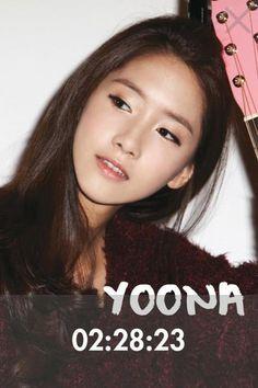Yoona 2 : Soshi Clock - 2012 Girls' Generation Diary App