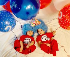 Dr Seuss second birthday pictures