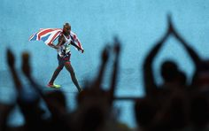.@Mo_Farah gets the double-double!  He wins 5000m #gold in 13:03.30 with a final lap 52.83  #Rio2016 #Athletics