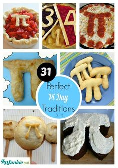 Perfect Pi Day Traditions- games, crafts, recipes, printables