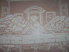 The Last Supper Handmade Filet Crochet T | Craftsy