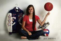 senior basketball photo shoot | The Portrait Photographer: Adding Props to Senior Portraits