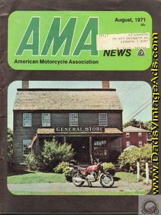 Cover: 650cc Benelli Tornado in a New England setting; Contents: Early Summer in New England; Formula 750 progress report; Motorized recreation discussed; The making of a motorcycle park; A Tribute to Bart Markel; Editorial: Trail Riding and the Environment; Pictorial: Early Summer in New England;