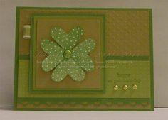 I {heart} hearts St. Patricks day card
