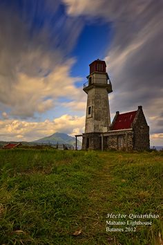 Mahatao lighthouse is one of the three lighthouses in the Batanes Islands , the norternmost frontier of the Philippine archipelago.The lighthouse has never served its purpose and has long been abandoned.