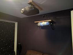 Question - Instlling benq on shelf at a high height, low screen Blue Porch Ceiling, Ceiling Curtains, Metal Ceiling, Ceiling Chandelier, Ceiling Lighting, Large Ceiling Fans, Hunter Ceiling Fans, Ceiling Fan With Remote, Projector Ceiling Mount