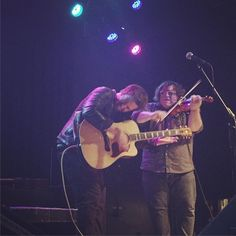 """""""These two jammed out HARD last night. @leedewyzeofficial @pjcartwright #leedewyze #leedewyzelive2015 #palatine #chicago #concert #music"""""""