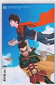 Superman Son Of Kal-El #1 (2021) Variant Inhyuk Lee Card Stock Cover: (Jon Kent) (First appearance as Superman): Amazon.com: Books Comic Book Publishers, Dc Comic Books, Time Warner, Warner Bros, Jon Kent, Superman, Batman, American Comics, Kindle App