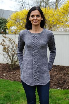 Ravelry: Oydis Sweater pattern by Linda Marveng