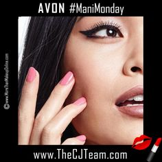 Enjoy #ManiMonday with a new shade Avon True Color Pro+ Nail Enamel. Avon. NEW shades! Increases nail strength by 80%, Avon True Color Pro+ Nail Enamel... Nail color that lasts 12 days. Get professional results at home with a high-shine mani that resists dings, bangs, and nicks. Regularly $8. Shop online with FREE shipping with any $40 online Avon purchase.  #Avon #CJTeam #Sale #TrueColor #Mani #Nails #Makeup #C11 #Cosmetics #NEW Shop Avon Cosmetics online @ www.TheCJTeam.com