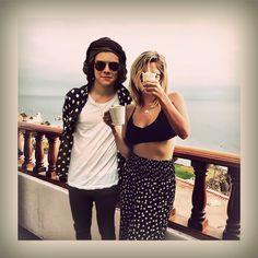 Harry Styles and Ashley Benson