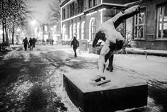 That Snowy night in Trondheim by Aziz Nasuti on 500px