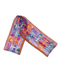 Take a look at this Three Amigos Silk Scarf by Laurel Burch on #zulily today!