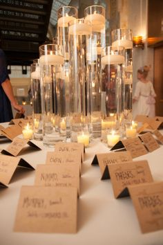 A stunning DIY-inspired placecard table at a Rookery Building #wedding: artofimagination.com/rookerySMP