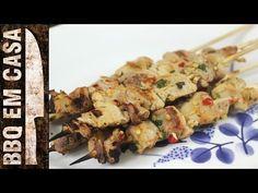 RECEITA DE ESPETINHO DE FRANGO (chicken kebab) - YouTube