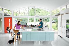 Though the kitchen fits in with its period surroundings, a few tweaks keep it current.