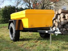 """Cross Country-Trailers, SAM THE TRAILER, Military Jeep Style Trailer """"Sammy"""""""