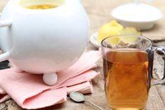 Zelfgemaakte gemberthee   Homemade ginger tea   Gember   Ginger   Thee   Tea   Drinken   Drinks   Gezond   Healthy   Dreambody transformation   De Levensstijl   Asja Tsachigova Happy Minds, Smoothies, Detox, Good Food, Food And Drink, Low Carb, Menu, Healthy, Desserts