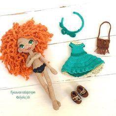 У куколки Даши одежда снимается, можно переодевать в дополнительный наряд! #одеждакукололяки #кукольнаялабораторияоля_ка #olyaka_lab