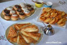 Πρωινόμεσημεριανό κάλεσμα Doughnut, French Toast, Food And Drink, Breakfast, Desserts, Morning Coffee, Tailgate Desserts, Deserts, Postres