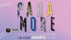 Berita Musik Terbaru – Grup band yang berasal dari negeri Paman Sam, yaitu Paramore akan tampil di Jakarta pada tahun depan. Berita Musik Terbaru, Berita Musik Indonesia, Paramore, Konser Paramore di Jakarta, Paramore di Jakarta, After Laughter Concert, Harga Tiket Konser Paramore, Harga Tiket Konser After Laughter Paramore