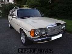 Autodetail - Mercedes Benz 300 TD W123 Taxi - Cars for Movies