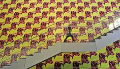 Warhol's cow wallpaper