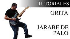 Aprende a tocar Grita de Jarabe de palo en la Guitarra