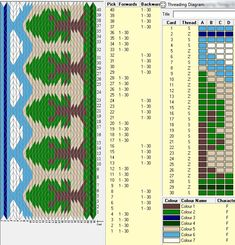 30 tarjetas, 7 colores, secuencias 4F-4B // sed_225 diseñado en GTT༺❁