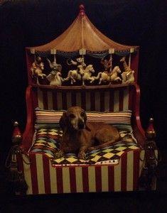 Carousel dog bed