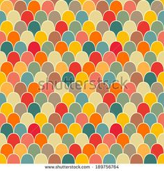 Scale seamless vector pattern by Mrs. Opossum, via Shutterstock