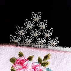 Hand Embroidery Dress, Needle Lace, Sewing Crafts, Needlework, Instagram, Crochet, Diy, Sewing Needles, Crochet Flowers