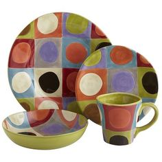 Have these, love these, glad they are back! Urban Dots Dinnerware
