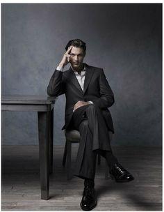 Photo Jeff Stephens, AD Robert Robertson, Model Ben Hill for Neiman Marcus