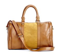 We believe there is a better way to style: that you can have the look you want without overspending or sacrificing on quality. Shop the latest in women's shoes, apparel, bags & more at Sole Society. Leather Luggage, Leather Satchel, Satchel Bag, Leather Bags, Leather Handle, Real Leather, Leather Purses, My Bags, Purses And Bags