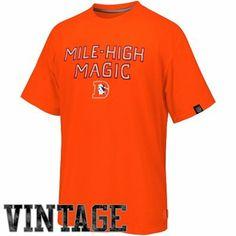 Denver Broncos '47 Brand Established Tri-Blend T-Shirt - Navy ...