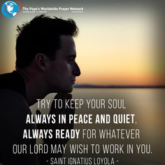Here I am Lord, I come to do your will!