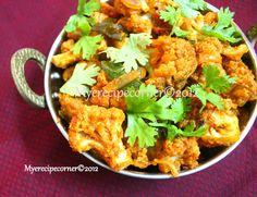 Gobi Chettinad/ Cauliflower Chettinad Recipe