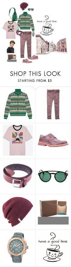 """""""Весна 2017"""" by babayka-lesovichek ❤ liked on Polyvore featuring Gucci, Hollister Co., Yves Saint Laurent, Pikolinos, Anderson's Belts, Tom Ford, Coal, Calvin Klein, Porsamo Bleu and Patagonia"""