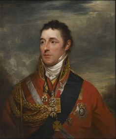 Sir William Beechey (English, 1753-1839)  Portrait of Field Marshal, Duke of Wellington, after 1814  Oil on canvas, 30 x 25 in.