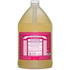 Dr. Bronner's 18-in-1 Hemp Pure Castile Soap (Rose) (64 fl. oz. )