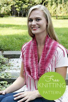 Driftone Cowl Free Knitting Pattern