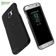 Lenuo cover for Samsung Galaxy S7 edge PU case Ultra thin Leather mobile case For Samsung Galaxy S7 edge / G9350 Back Cover